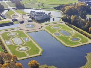 Chantilly-Castle aerial view (3)-Northern France Tourism-J.L.Aubert