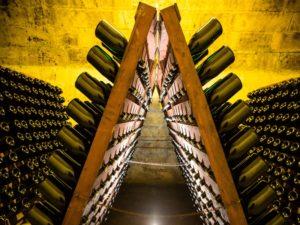 France - Champagne cellar