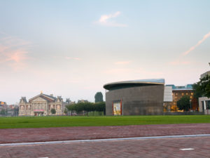 Netherlands - Amsterdam - Van Gogh museum in Amsterdam - shutterstock